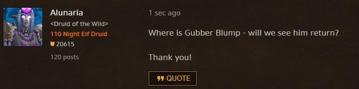 Gubber Blump