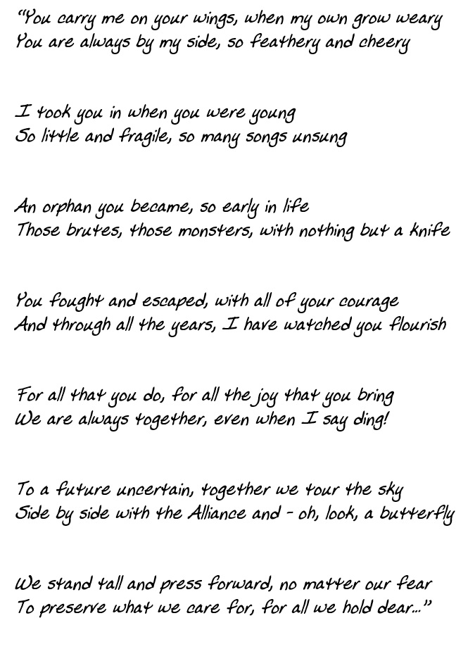 Hippogryph poem
