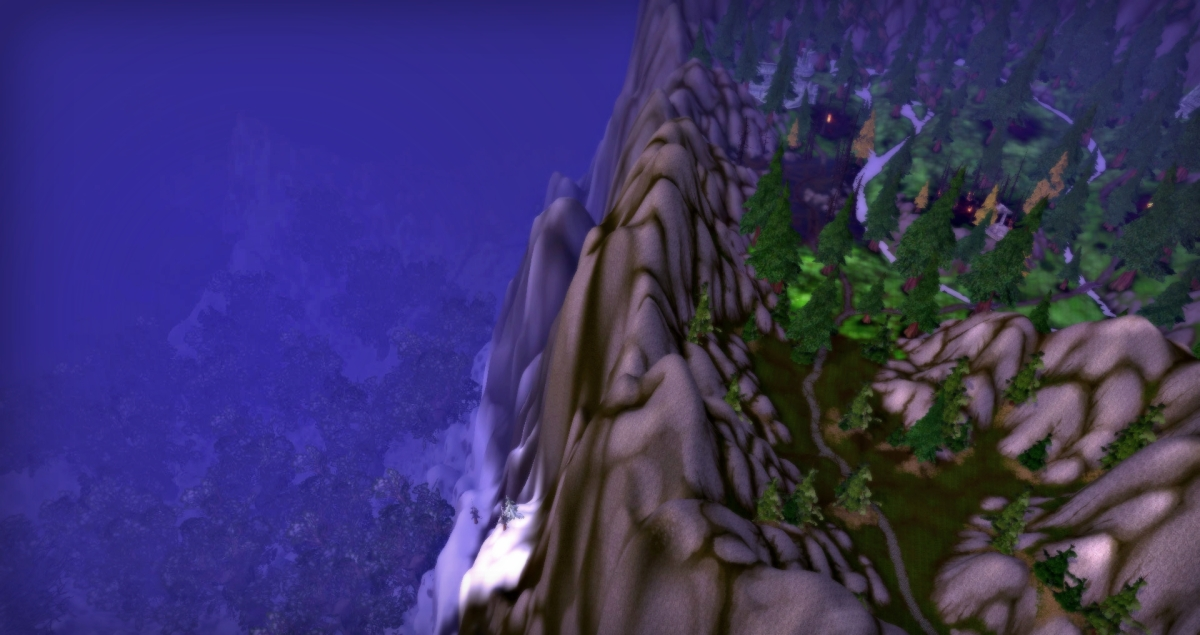 Winterspring Mount Hyjal Felwood